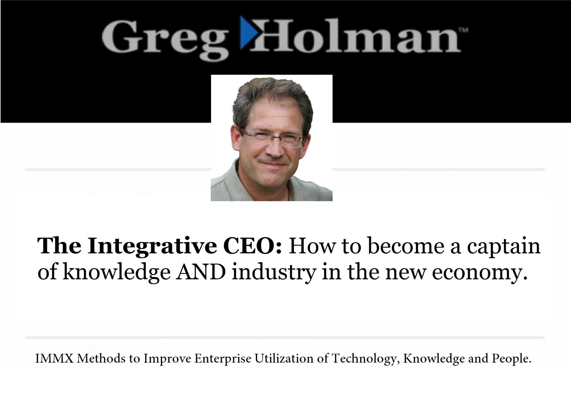 Greg Holman | Official Website